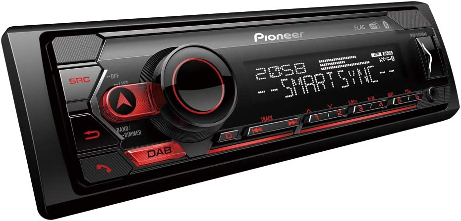 Pioneer MVH-S420DAB Car Radio Single Din