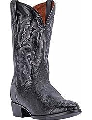 Dan Post Mens Pugh Ostrich Western Boot Round Toe - Dpp5203