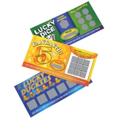 2 X Joke Lotto Tickets -