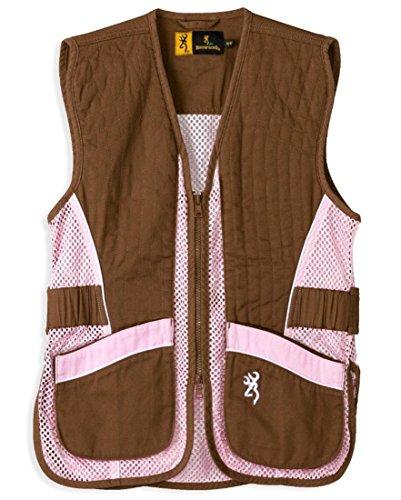 Browning Vest, Jr For Her Brown/Pink, Size: 2xl (3050548805)