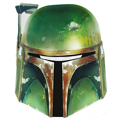 Star Wars Childrens Costumes Uk (Star Wars Boba Fett Cardboard Mask)