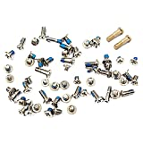 Bislinks Full Screw Set Silver/White Gold Bottom Pentalobe Screws Part for iPhone 6 Plus