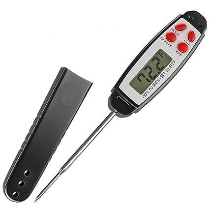 YYHSND Sonda Tipo Bolígrafo Electrónico Termómetro para Alimentos Carne A Prueba De Polvo Instrumento De Medición