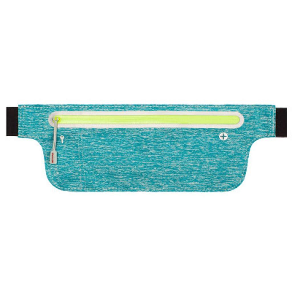 6 RGBIWCO Outdoor Sports Waist Packs Pocket Pack Belt Bag Phone Pouch Fanny Bag for Men Women