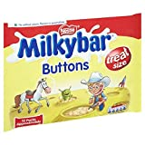 Milkybar White Chocolate Mini Buttons 189 g (Pack of 12)