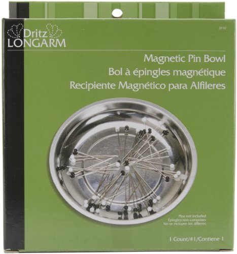 Dritz Longarm Magnetic Pin Bowl 1 pcs sku# (Dritz Magnetic Pin)