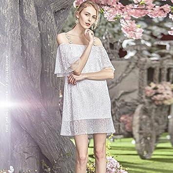 JIALELE Vestido Fiesta Mujer,De Fiesta,Vestidos Para Mujer Un Cabestrillo Vestido De Un