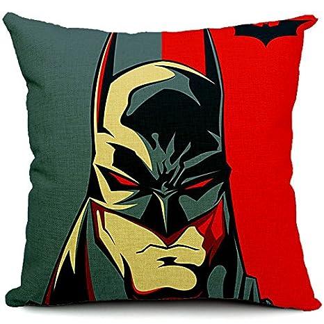 Funda de cojín almohada sofá cojín decorativo Batman: Amazon ...
