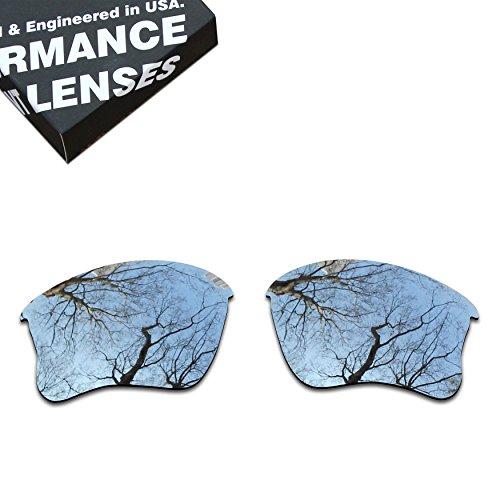 ToughAsNails Polarized Lens Replacement for Oakley Flak Jacket XLJ Sunglass - - Jacket Lenses Flak Xlj
