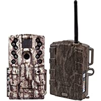 Moultrie Low Glow 12 MP Mini A20 Long Range IR Trail Game Camera + Field Modem