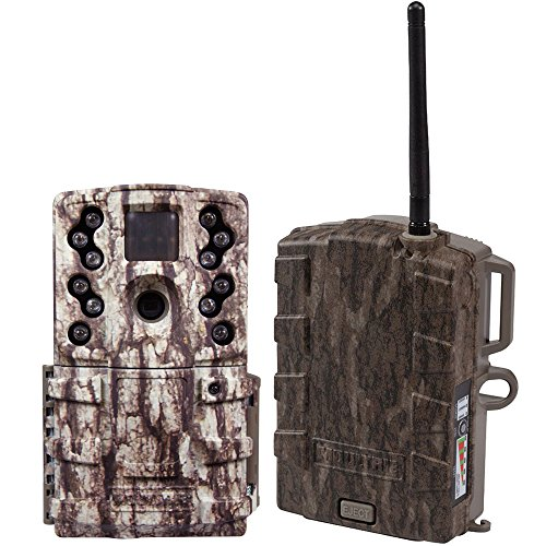 Moultrie 12 MP Mini Long Range Infrared Game Camera + Field
