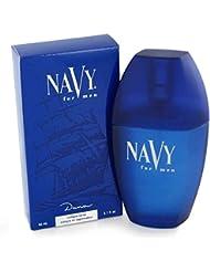 Dana Navy Cologne Spray for Men, 3.4 Ounce
