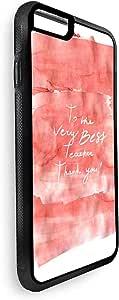 ديكالاك غطاء حماية خلفي لاجهزة ايفون 8 بلس بتصميم لإفضل معلم