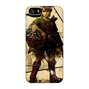 New Diy Design Legend Of Zelda 2 For Iphone 5/5s Cases Comfortable For Lovers And Friends For Christmas Gifts