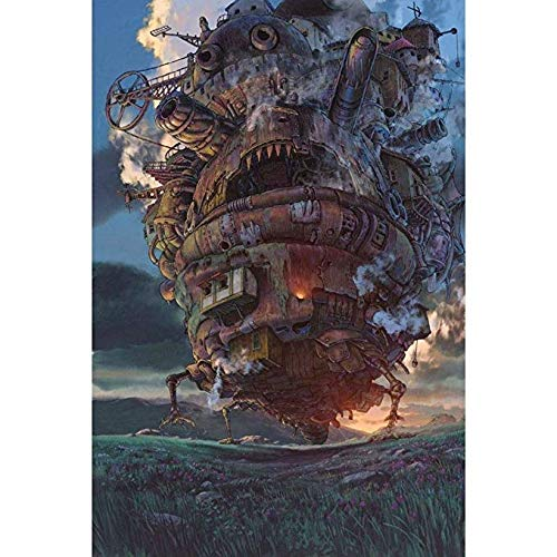 AdultPT Erwachsene 500 Stücke Dekompression Puzzle Früherziehung Lernspielzeug Anime Castle Puzzle Für Kind P401 (Farbe   A, größe   4000pc) B07Q832HFF Bodenpuzzles Sehr gelobt und vom Publikum der Verbraucher geschätzt   Qualifi