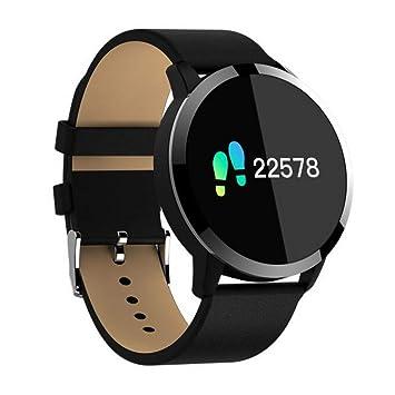 Samgu Reloj Inteligente para iOS y Android Actividad Inteligente Full OLED táctil Reloj Podometro Pulsera Hombre Mujer Impermeable IP67 Color Monitor de ...