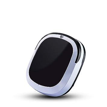 Automático Inteligente Robot Aspiradora Auto Barrer Máquina Hogar Limpieza Mascota Pelo Herramienta Negro: Amazon.es: Hogar