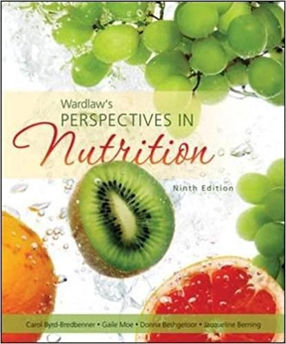 Wardlaws Perspectives In Nutrition Pdf