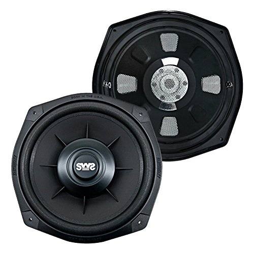 Earthquake Sound SWS-8XI Shallow Woofer System Series 600 Watt 8 Single 2 ohm Car Subwoofer (pair)