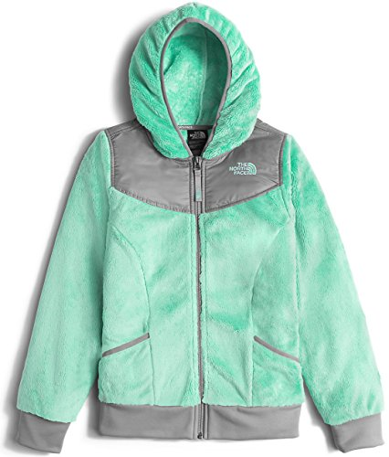 The North Face Girls Oso Hoodie,Ice Green,US XS by The North Face