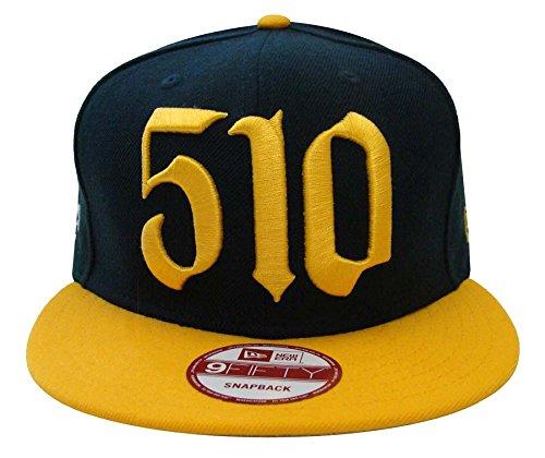 Oakland Athletics New Era Area Code Snapback Cap Hat Green Yellow - 510 area code