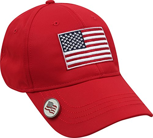 Ahead Men's Americana Hat, Red, One Size (Hats Ahead)