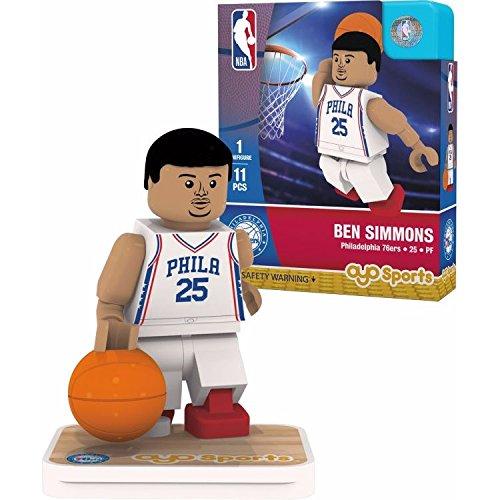 - OYO NBA Philadelphia 76ers Ben Simmons Association Home Uniform Minifigure, Small, No Color