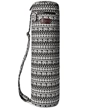 Fremous Yoga Mat Bag and Carriers for Women and Men - Double Storage Pocket - Easy Access Zipper - Adjustable Shoulder Strap and Handle