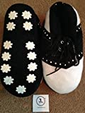 Pair of JL golf novelty slippers. xmas fathers day size 9-12 gift present large