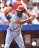 Ken Griffey, Sr. (Big Red Machine) Autographed/ Original Signed 8x10 Color Photo w/ the Cincinnati Reds