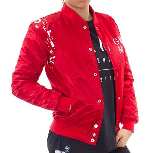 Grimey Chaqueta Satin GRMY FW15 Red XL: Amazon.es: Ropa y ...