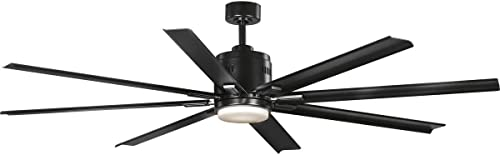 Progress Lighting P2550-3130K Vast 72″ 18W LED 8-Blade Ceiling Fan
