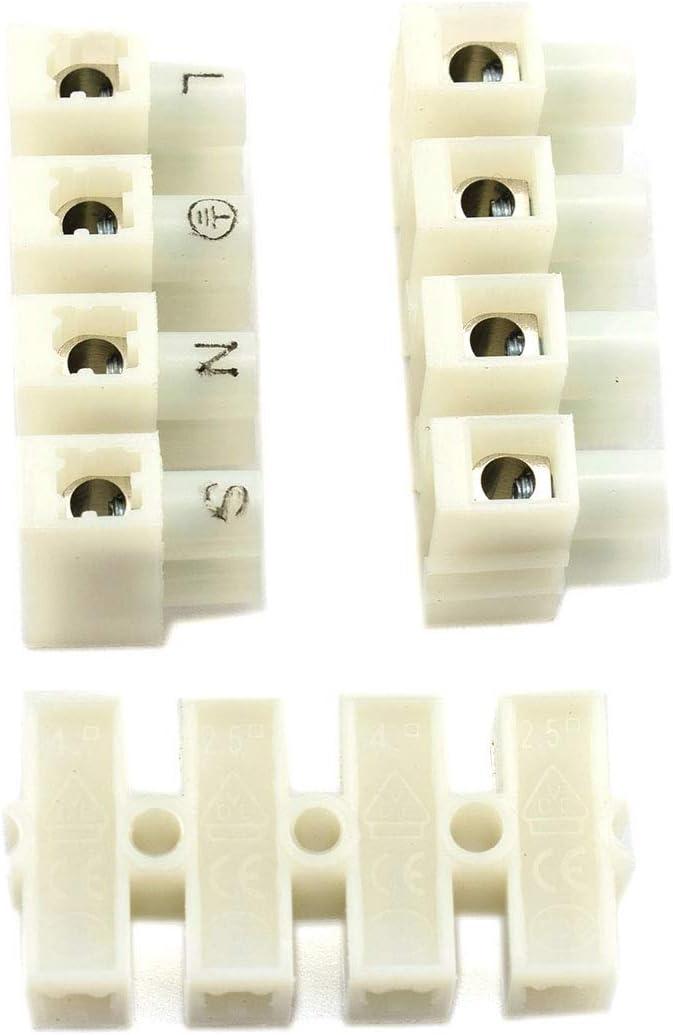 100 conectores de cable de resorte de conexi/ón r/ápida 2P CH2 para tira de luz LED