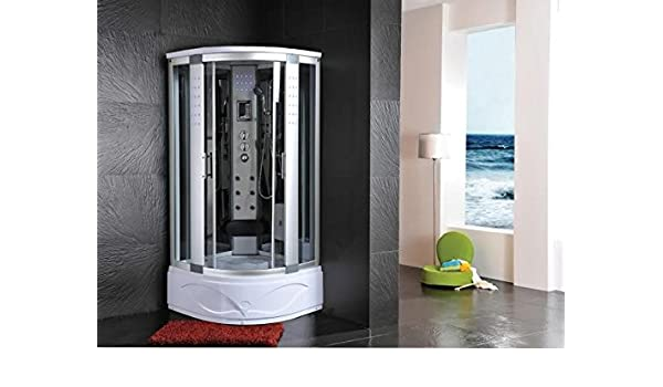 Cabina de ducha hidromasaje Sauna Baño Turco 90 x 90: Amazon.es: Hogar