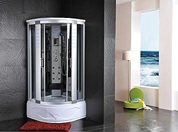 Cabine douche Jacuzzi sauna bain turc 90 x 90: Amazon.fr: Cuisine ...