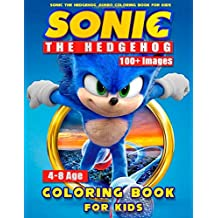 SONIC the Hedgehog Jumbo Coloring Book for Kids: 100+ Quality Images Sonic and Friends