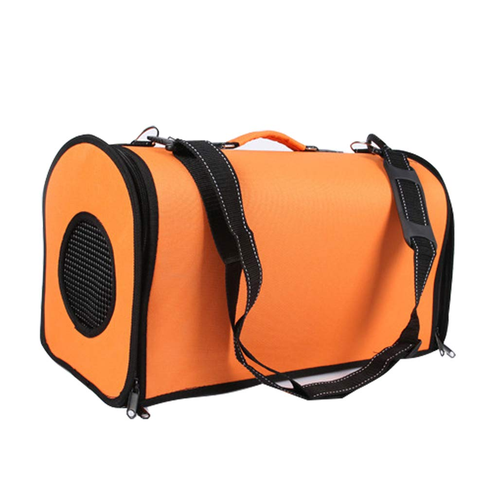 orange GWM Pet Backpacks Pet Backpack Out Cat with Astronaut Space Capsule Pet Bag Backpack Bag Cat Bag Breathable Bag Eco-Friendly Waterproof (color   orange)