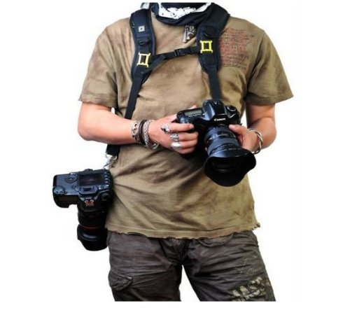 Professional Shooting Quick Release Double Shoulde...