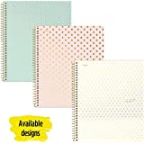 """Five Star Spiral Notebook, 1 Subject, College Ruled Paper, 100 Sheets, 11"""" x 8-1/2"""", Color Varies (06348)"""