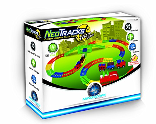 Mindscope Neo Tracks Train Series 141 Piece Set Twister - Series Systems Track