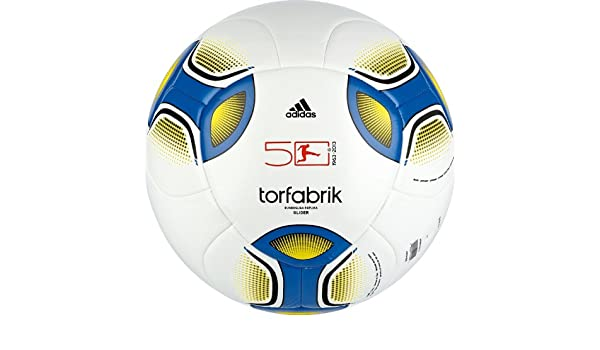 adidas Torfabrik 2012 Glider - Balón de fútbol white/prime blue ...