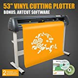 FINCOSs 53'' 1350MM Vinyl Sign Sticker Cutter Plotter Contour for EU Market