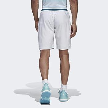 adidas Parley 9 Pantalón Corto de Tenis, Hombre, Blanco, XS ...