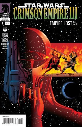 Star Wars: Crimson Empire III—Empire Lost #1 of 6 (Paul Gulacy Variant/Incentive cover) Incentive Variant Cover