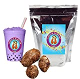 Taro Boba/Bubble Tea Powder By Buddha Bubbles Boba 10 Ounces (283 Grams)