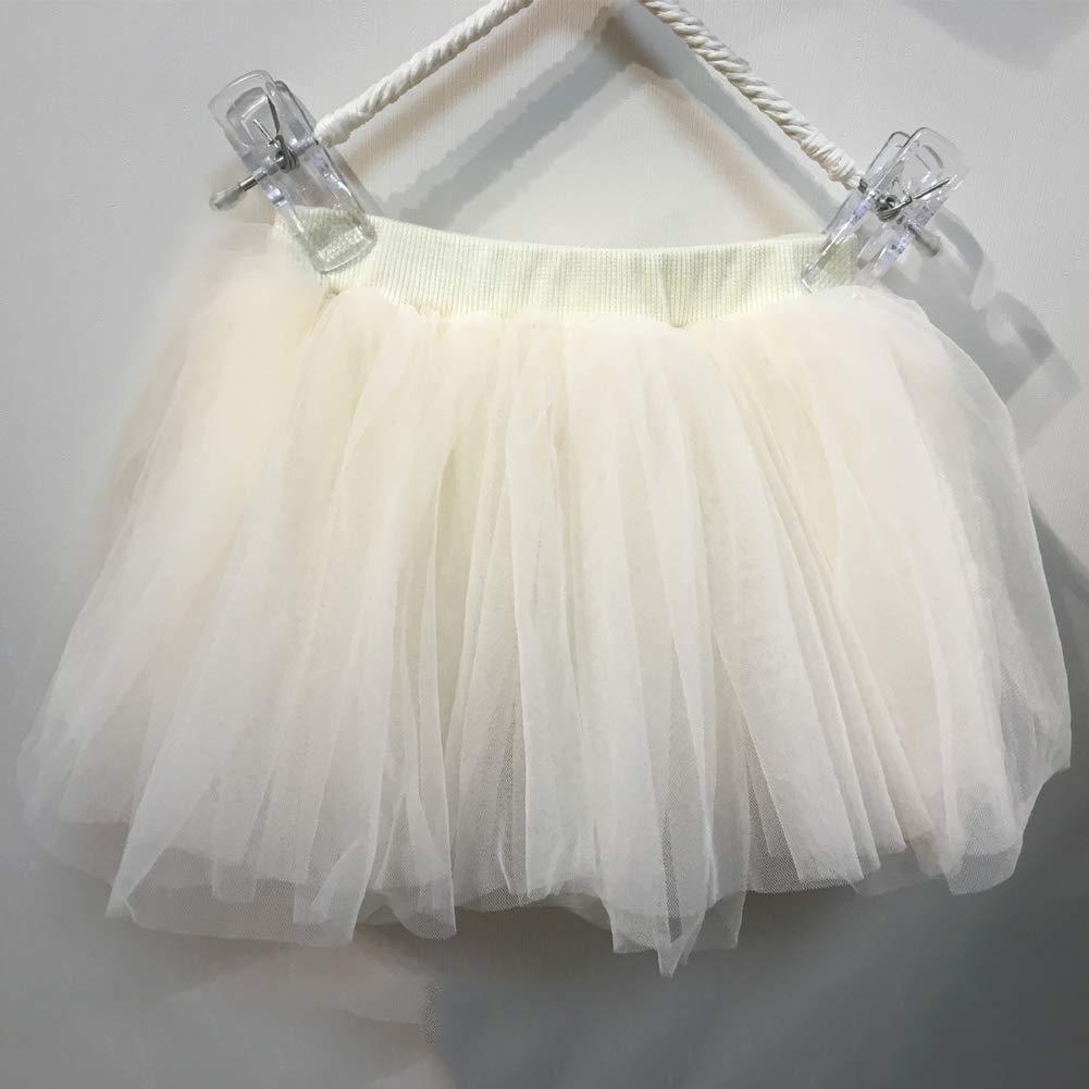 YFCH Gonna Tulle Bambina Ragazza Gonna da Matrimonio Festa Danza Gonne Balletto Principessa Gonna da Ballo