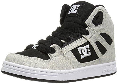 DC - Zapatillas para niño negro/blanco/negro
