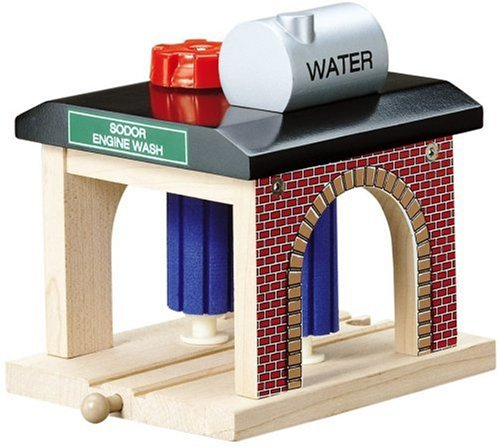 Learning Curve Thomas & Friends Wooden Railway - Sodor Engine Wash