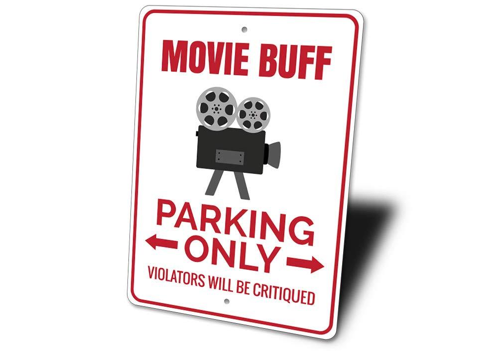 Película Buff señal de prohibido aparcar, película, película ...