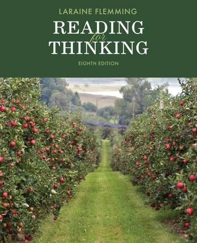 Reading for Thinking (The Flemming Reading Series)